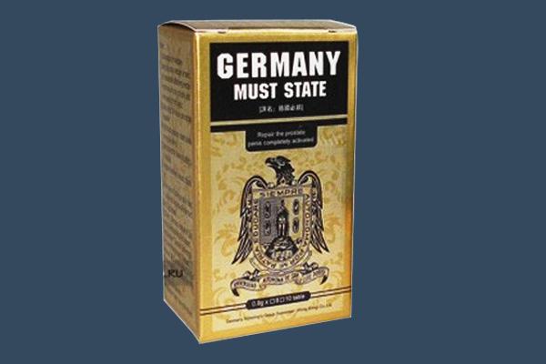 Thuốc cương dương Germany Must State giá bao nhiêu?