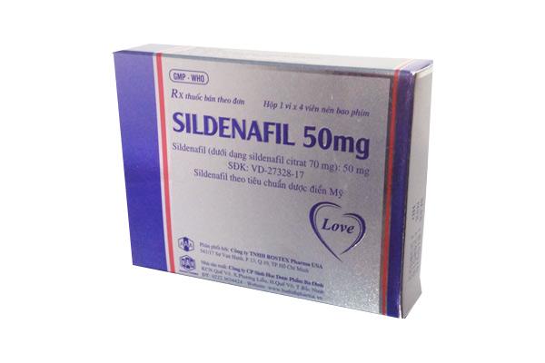 Hình ảnh Sildenafil giải pháp thay thế Viagra