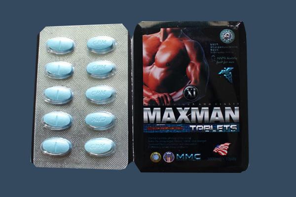 Viên uống Maxman vỉ 10 viên tiện dụng